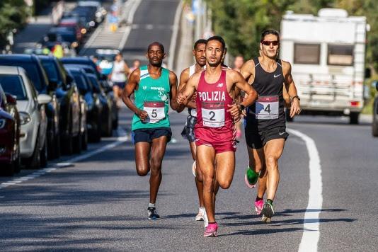 Yassine Rachik e gli altri top runner della 5^ Corsa dei Castelli di Trieste