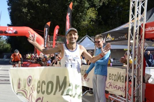 Ecomaratona Chianti Classico, vincono Giorgio Calcaterra e Federica Moroni tra vigne e strade bianche