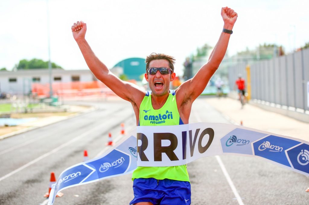 Grande successo per la nuova Maratona della Valle d'Itria- Primi al traguardo Vincenzo Mirizzi e Teresa Lelario